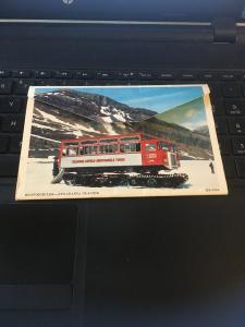 Vintage Picture Postcard Book: 70s Columbia Icefield, Jasper Nat park, 12 Views