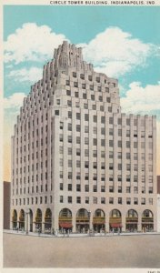 INDIANAPOLIS, Indiana, 1910s; Circle Tower Building
