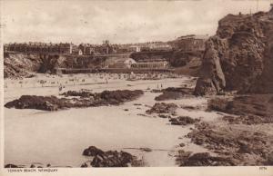 Towan Beach, Mewquay, Cornwall, England, United Kingdom, PU-1935