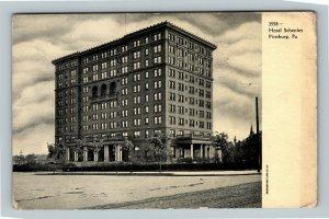 Pittsburg PA, Hotel Schenley, Vintage Pennsylvania c1910 Postcard