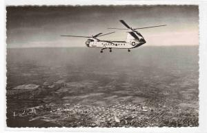 Vertol H-16 Helicopter Transporter US Air Force real photo rppc postcard
