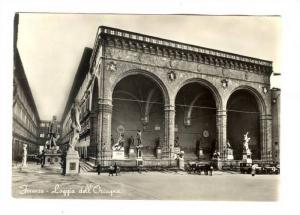 RP; Firenze - Loggia dell'Orcagna, ITALY , 40-50s