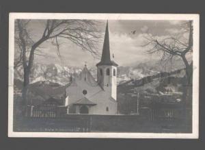 079800 GERMANY Partenkirchen Ev.Kirche m.Dreitorspitze Vintage