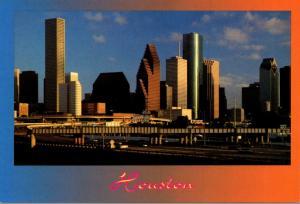 Texas Houston Downtown Skyline
