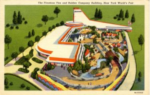 NY - New York World's Fair, 1939. Firestone Tire & Rubber Building