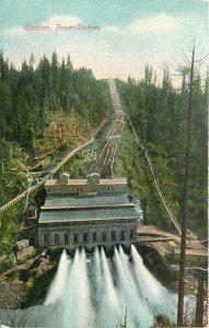 C-1910 Electron Washington Power Station Hopf Bros Postcard 20-5473