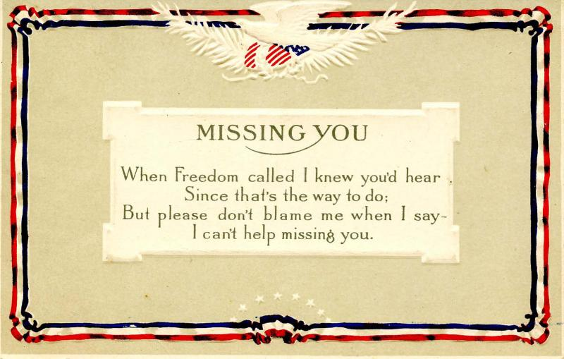 Patriotic - Missing You. USA Military