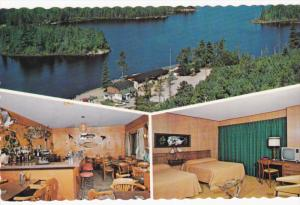 James Lake Hotel, Cocktail Lounge, Interior of one of the Rooms, TEMAGAMI, On...
