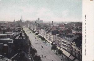 Panorama du Haut de la Gare, Anvers, Antwerp, Belgium, 00-10s