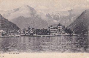 Kviknes Hotel Balholm Norway Postcard