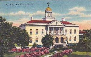 Florida Tallahassee Post Office 1953
