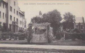 Michigan Detroit Rose Garden Marygrove College  Artvue