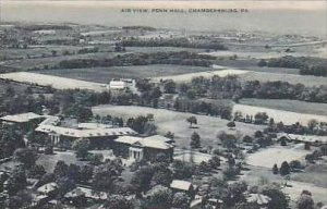Pennsylvania Chambersburg Air View Penn Hall Artvue