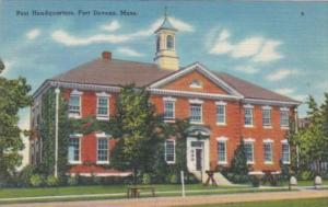 Massachusetts Fort Devens Post Headquarters