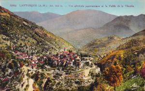 Vue Generale Panoramique Et La Vallee De La Vesubie, LANTOSQUE (Alpes Maritim...