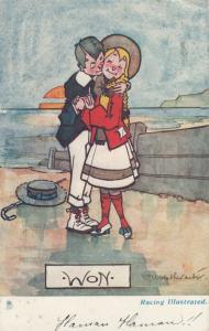AS; Boy Wins Girl, PU-1910; WON, TUCK # 6447