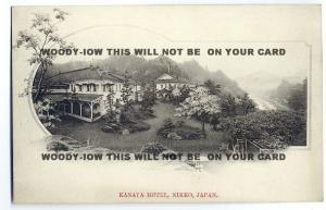 ft757 - Japan - Kanaya Hotel , Nikko - postcard