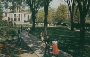 STATE COLLEGE, Pennsylvania, 1950-60s; Library