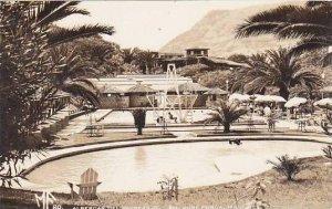Mexico Navarro Balneario San Jose Purua Swimming Pool 1955 Real Photo