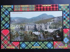 c1907 TARTAN MacKenzie NacGregor, Rob Roy, Murray etc: Holyrood Palace 170515