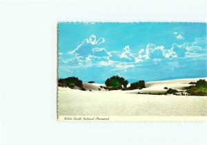 Vintage Postcard White Sands National  Monument Park New Mexico  # 2683