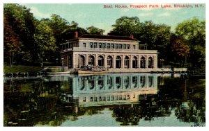 New York  Brooklyn , Boat House Prospect Park  Lake