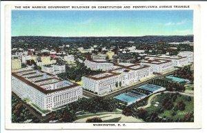 Washington, DC - New Massive Government Buildings