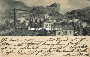 italy, ARCO, Trentino, Panorama (1901) Austrian Stamp