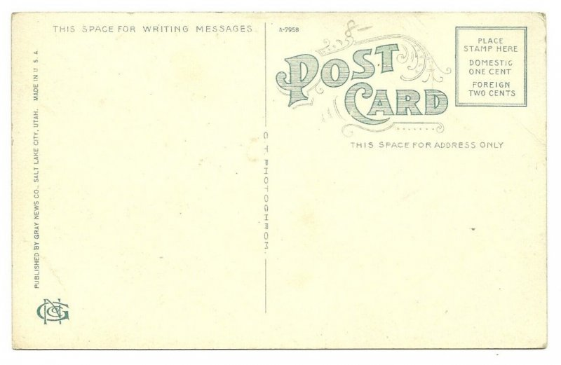 OGDEN, Utah, 1900-10s; Washington Avenue
