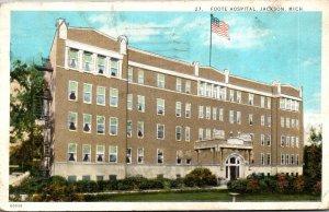 Michigan Jackson Foote Hospital 1926