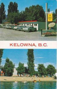 2-Views, Sunny Beach Resort Motel, Kelowna,  B.C.,  Canada, 40-60s