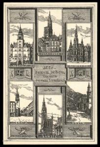 Austria NSDAP 1921! Nazi Party Deutsch-Oesterreich Propaganda Card 90521