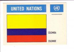 Colombioa, Flag, United Nations