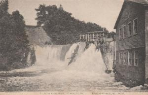 Lawless Falls in Penfield NY, New York - pm 1909 - DB