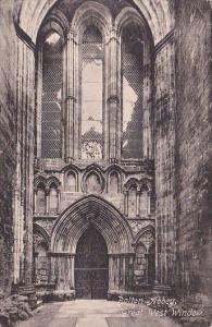 England Wharfedale Bolton Abbey Great West Window