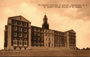 Washington D C The Catholic University Of America St Joseph's College Al...