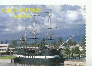Shipping Postcard - H.M.S Buffalo - Patawalonga - South Australia - Ref 20340A