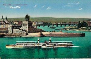 Germany Koblenz das Deutsche Eck 03.04