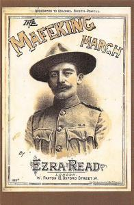 The Mafeking March, by Ezra Read, London, Colonel Baden-Powell