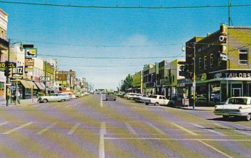LETHBRIDGE , Alberta , Canada , 50-60s ; Fifth Street
