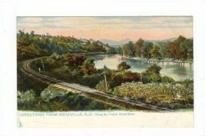 Railroad Tracks along the French Broad River, Asheville, North Carolina, 00-10s
