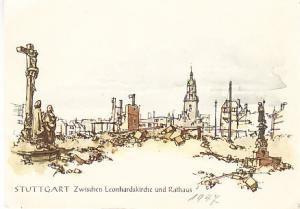 Germany - Stuttgart - Chr. Schellenberger Art 1947 Unused