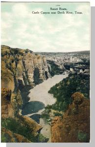 Nice Texas/TX Postcard, Castle Canyon Near Devils River