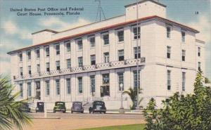 Florida Pensacola Post Office and Federal Court House 1945