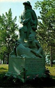 Vermont Iisle La Motte Samuel de Champlain Statue