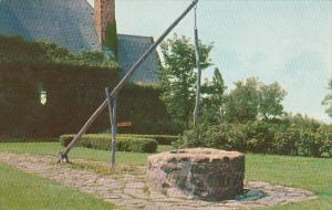 Canada Nova Scotia Grand Pre Evangelines Well 1960