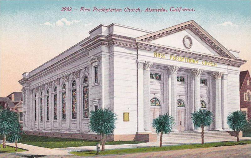 First Presbyterian Church , ALAMEDA , California ,  1900-10s
