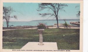Ship Yard Park (Adjoins Anchorage-By-The-Sea), Mattapoisett, Massachusetts, 1...