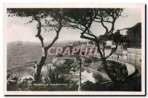 Old postcard Marseille The Corniche