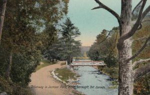 PETERBOROUGH , Ontario, Canada, 00-10s ; Drveway in Jackson Park